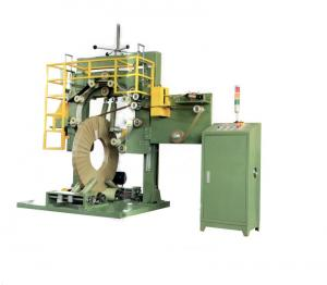 China Steel Wire Automatic Coil Wrapping Machine ,PLC Packaging Machine on sale