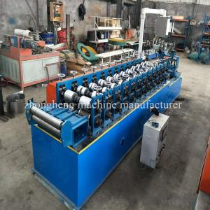China ZH Cold Steel Omega Aluminium Profile Making Machine With None Stop Cutting on sale