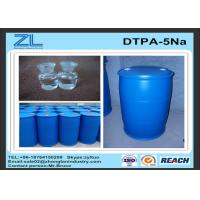 50% DTPA Acid / Yellow or light yellow transparent liquid DTPA-5Na for improve whiteness