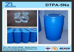 China 50% DTPA Acid / Yellow or light yellow transparent liquid DTPA-5Na for improve whiteness supplier