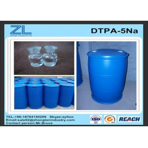 China 50% DTPA Acid / Yellow or light yellow transparent liquid DTPA-5Na for improve whiteness on sale