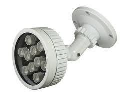 China Gama de larga distancia llevada infrarroja de los iluminadores el 150m del CE 18pcs IR para las cámaras CCTV de la seguridad on sale