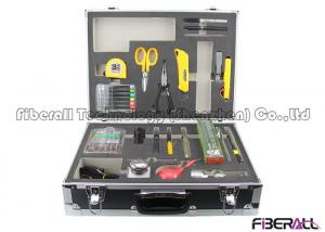 China Optical Fiber Fusion Splicing And Termination Tool Kit For Fiber Cable Construction on sale