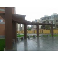 Fire Proof Ecology Composite Wood Pergola With Low Carbon Environmental Protection
