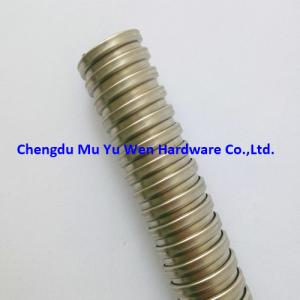 """China 1/2"""" bare squarelocked stainless steel 304 electrical flexible conduit with competitive price on sale"""