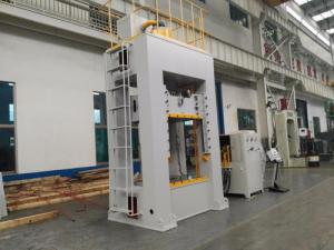 China 200T Gantry Type Hydraulic Press Machine Sheet Metal Stretch Machining 11 KW Motor on sale