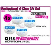 UV GEL /Clear,Pink,White Color/Cleaner Plus/UV Top Coat