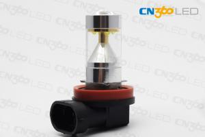 China 750LM H8 Car LED Fog Light Kit Cree 6000k 30Watt DC 12V - 24V on sale