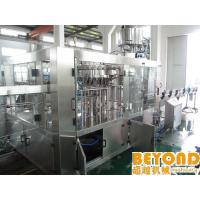 China High Automatic Level Carbonated Beverage Filling Machine , 200ml to 2000ml on sale