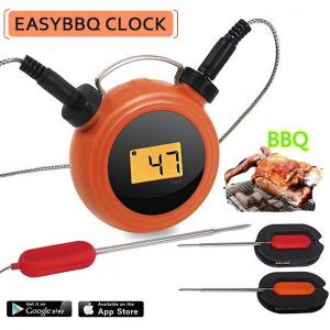 China Smart Wireless Bbq Temperature Thermometer Heat Resistance Remote Control on sale
