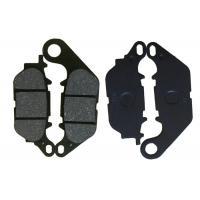 China JUPITER MX Motorcycle Brake Pads , Parking Brake Shoes Steel Material Black Color on sale