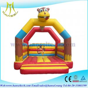 China Hansel 0.55mm PVC Air Bouncer Best Selling Inflatable Bounce House on sale