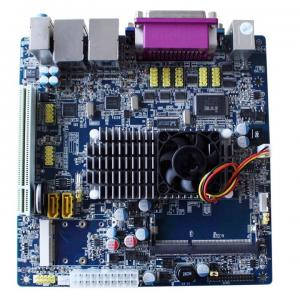 China Intel ATOM D525 Mini ITX Mainboards With DDR3 1066 / 1333 Memory PT-M525 on sale