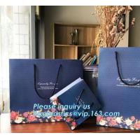 Chinese factory supply Yankee Candle luxury shopping paper bag,top grade design and printing gift wine paper bag bagease