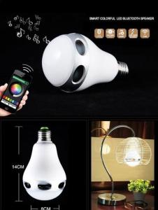 China APP control Bluetooth colorful Led Bulb Light Speaker on sale