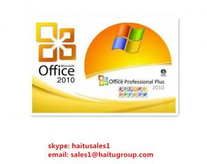 China Standard  Office Product Key Codes , FPP Office 2010 Professional Plus Key on sale