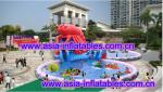 China Large  Lobster Pool Inflatable Water Parks For Commercial Use wholesale