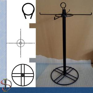 China 4 Wire Hooks countertop display rack / Metal Display Stand / Rotating Countertop Rack / Spinner on sale