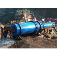 China Trommel Scrubber Aggregate Wash Plant Large Capacity For Removing Clay on sale