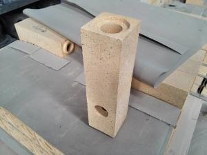 Quality High Temperature Fireproof Stopper Refractory Sleeve Brick For Iron Steel for sale