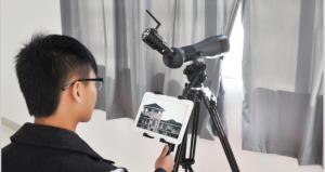 China WiFi Telescope &Spotting Scope- works with iPhone/ iPad/Android/tablet/PC,Free APP on sale