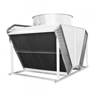 China copper tube heat exchanger radiators air flow fin fan dry cooler for HVAC industry on sale
