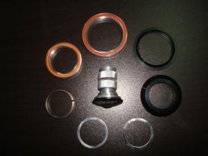 Quality Auriculares de la aleación de los componentes del carbono con el marco Headtube for sale