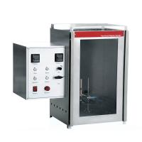 China Fire Testing Equipment EN 60903Vertical Flame Tester The Insulating Glove Fire Resistance Test on sale