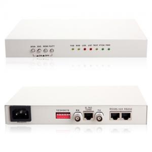 China E1 to RS485/RS422/RS232 serial Protocol Converter, RS485/RS422/RS232 data over E1 on sale