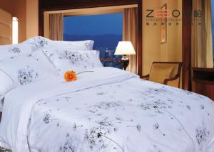 China 100% Cotton Hotel Collection Bedding Sets King / Queen Size ZEBO-HB0023 on sale