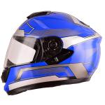 New designed double visor casque motorbike helmet full face with DOT
