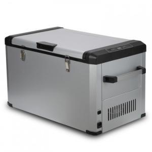 China Lock Design Mini Portable Car Fridge Freezer Large Volume For Mobile Home,80L on sale