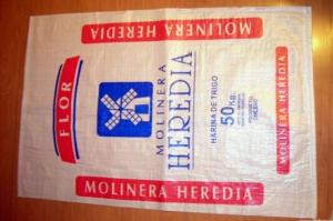 Quality Recyclable Animal Woven Polypropylene Feed Bags And Rice Sacks 50kg 25kg For