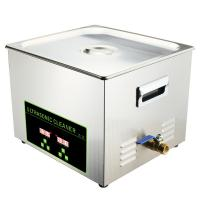 Lab Ultrasonic Dental Cleaning Machine Stainless Steel 15L Multiple Frequency