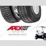Neumático del carro de golf