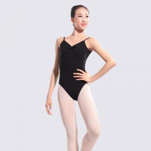 China 11414156 Ballet Dancewear Black Camisole Leotards Ballet Leotards on sale