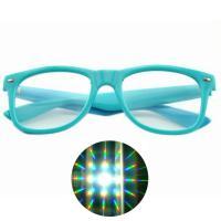 Premium Diffraction Glasses Clear Lens 3D Glasses- Ideal For Raves, Music Festivals