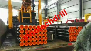China 89mm diameter, 1-9m Length Black High quality  DTH drilling rods on sale