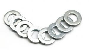 China Carbon Steel Hardware Flat Washers Hot Dipped Galvanizated 4.8 10.9 Class on sale