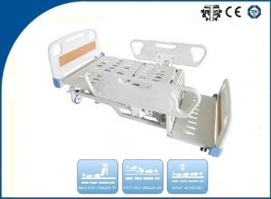 China Electric Nursing Beds 3-Function With Central Braking , Nursing ICU Hospital Bed , OEM Patient Bed on sale