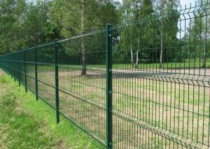 China Welded Wire Mesh Fence Panels For Forest , Garden Fencing Wire Mesh on sale