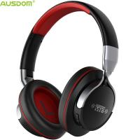 China Ausdom AH861 Over Ear Sharing Function Foldable Lightweight Adjustable Durable Noise Cancelling Bluetooth Headphone on sale
