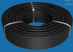 China PVC PA PP PE Plastic Automotive Wiring Accessories , Flexible Corrugated Tube on sale