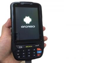 China Industrial Handheld PDA Devices with Android OS Barcode Scanner RFID Reader IP65 on sale