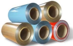 China Color Coated Aluminium Coil on sale