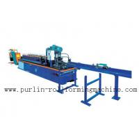 China PLC Control System High Speed Light Stud Track Roll Forming Machine on sale