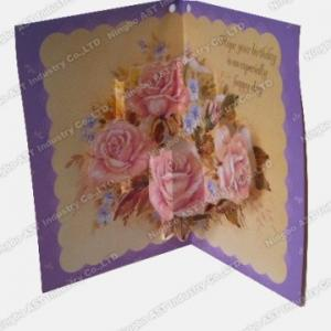 China Pop-up Greeting cards S-1201 on sale