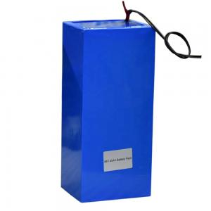 China Rechargeable Lifepo4 Lithium Ion Battery / 48V 40Ah Lithium Ion Polymer Battery Pack on sale