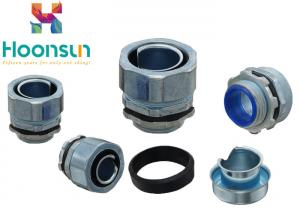 China 3 / 4  Male Waterproof Conduit Connectors Metal Conduit Fittings For Liquid Tight Conduit on sale