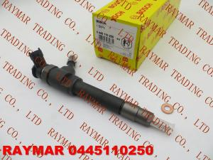 China BOSCH Common rail injector 0445110250 for MAZDA BT-50 WLAA-13-H50, WLAA13H50, Ford Ranger on sale
